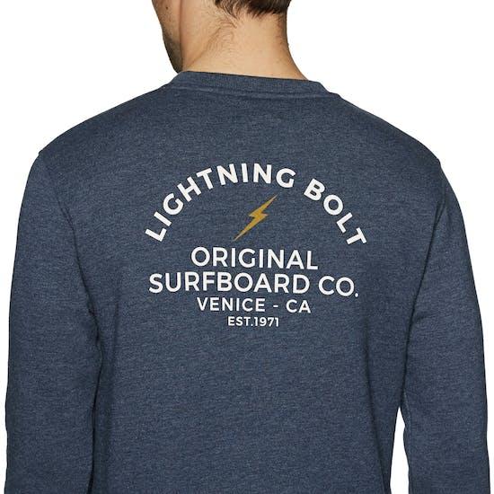Lightning Bolt Venice Surf Co Crew セーター