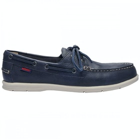 Sebago Naples Slip On Trainers - Navy Blue