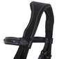 QHP Luxury Stitched Snaffle Bridle