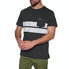 Rip Curl Stripy Slub Short Sleeve T-Shirt