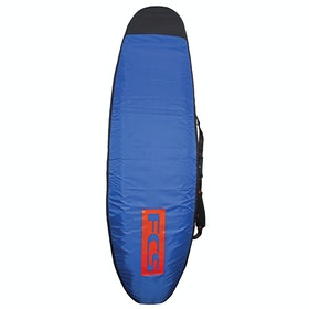 FCS Classic Longboard Surfboard Bag - Steel Blue White