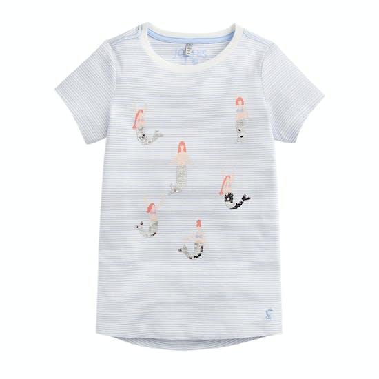 Camiseta de manga corta Girls Joules Astra