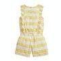 Yellow White Stripe