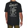 Hurley Slippin Short Sleeve T-Shirt - Black