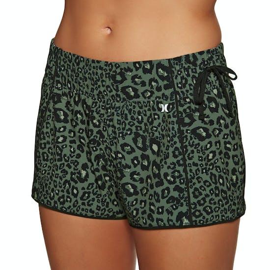 Hurley Phantom Waverider Leopard Womens Boardshorts