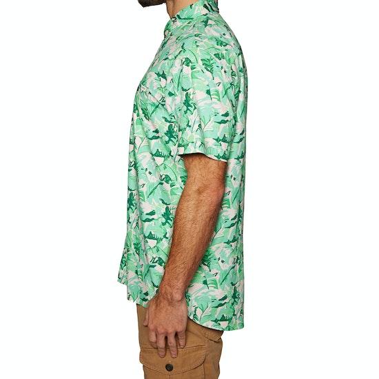 Reef Beach Palms Short Sleeve Shirt
