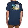 T-Shirt à Manche Courte Reef Beach State - Navy