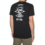 Rip Curl Search Logo Short Sleeve UV Surf T-Shirt