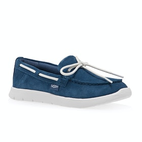 Chaussures Enfant UGG Beach Moc Slip on - Ensign Blue
