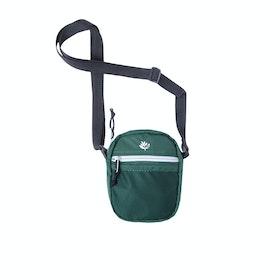 Magenta Sport Pouch Messenger-Tasche - Green