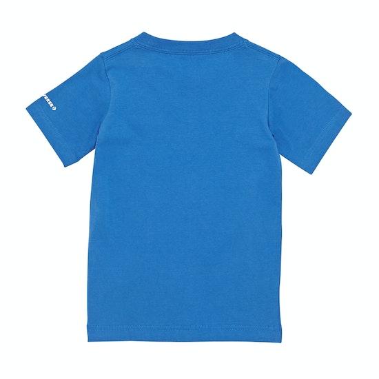 Converse Ctp Splatter Print Fill Kids Short Sleeve T-Shirt