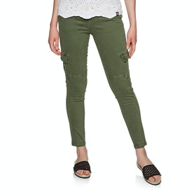 Pantalon Cargo Femme Superdry Daisey Skinny - Thyme Khaki