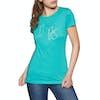 Jack Wolfskin Ocean Womens Short Sleeve T-Shirt - Aquamarine