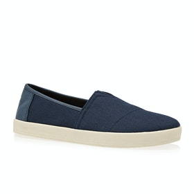 Toms Avalon Slip On Shoes - Navy