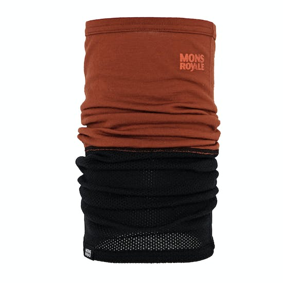Mons Royale Fifty-fifty Mesh Neckwarmer Neck Gaiter