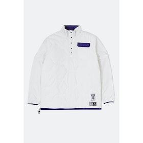 Adidas Hardies Jacket - White Collegiate Purple Black