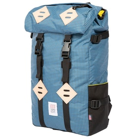 Topo Designs Klettersack 22L Backpack - Blue White Ripstop