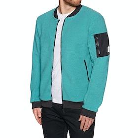 Wear Colour Rock Jacket Fleece - Dark Teal