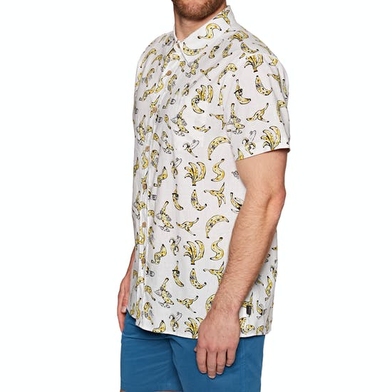 The Critical Slide Society Banandas Mens Short Sleeve Shirt