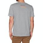 2 Minute Beach Clean Organic Big Whale Logo Short Sleeve T-Shirt