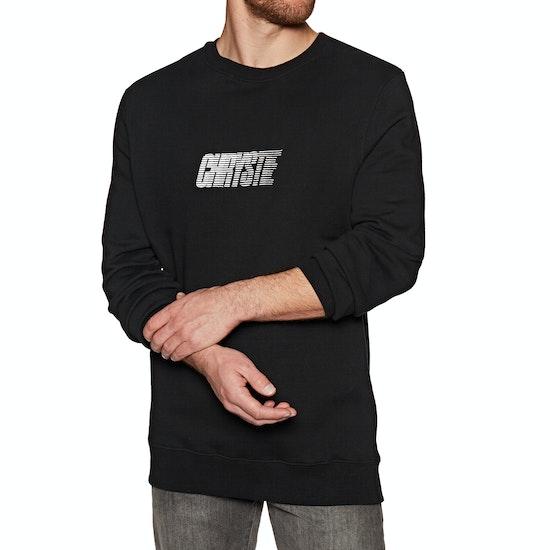 Chrystie Race Logo Crewneck Sweater