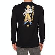 Camiseta de manga larga Primitive Super Saiyan Goku