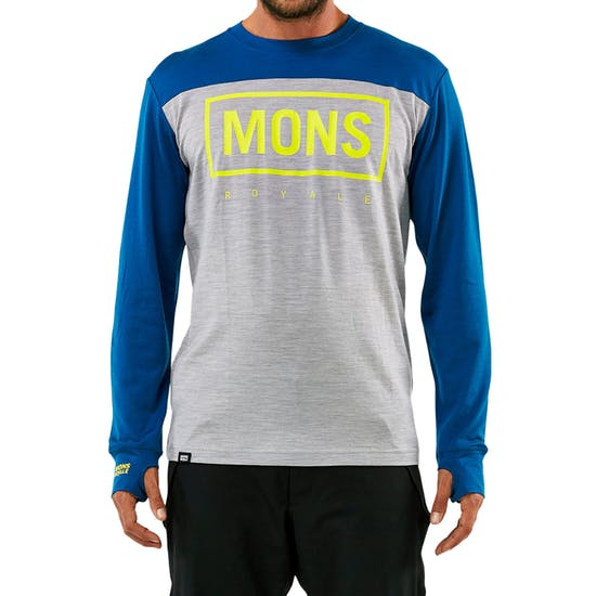Mons Royale Yotei Powder Hood Long Sleeve Base Layer Top