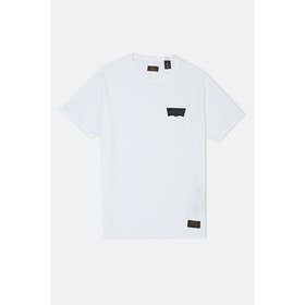 Levi's Skate Graphic S S T-Shirt - White Core Batwing Black