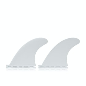 Futures QF2 4.15 Flat Thermotech Quad Trailer Fin - White