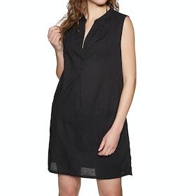 SWELL Beach Shirt Dress - Black
