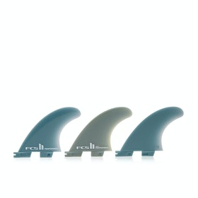 FCS II Performer Glass Flex Tri Fin - Teal