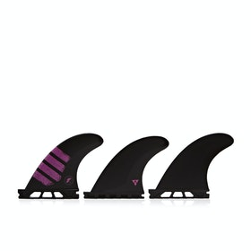 Futures F2 Alpha Thruster Fin - Carbon Pink