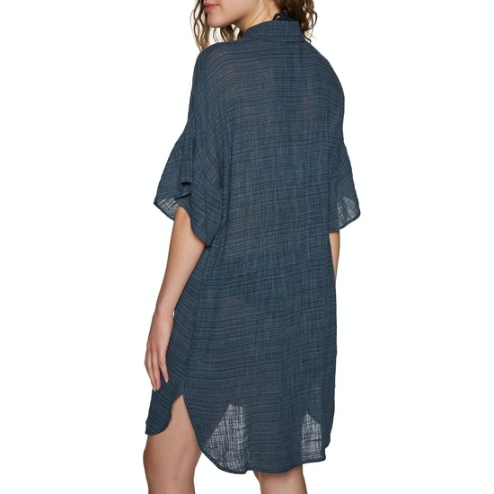 Seafolly Ruffled Sleeve Beach Dress
