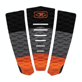 Ocean and Earth Blazed 3 Piece Grip Pad - Orange