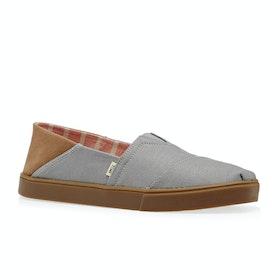 Scarpe Slip On Toms Herritage Convertible - Drizzle Grey