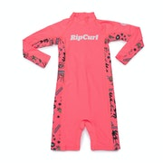 Rip Curl Mini Long Sleeve UV Sun Suit Girls Rash Vest