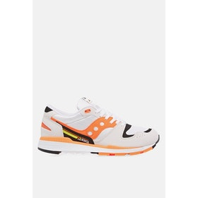 Saucony Azura Shoes - White Orange Black