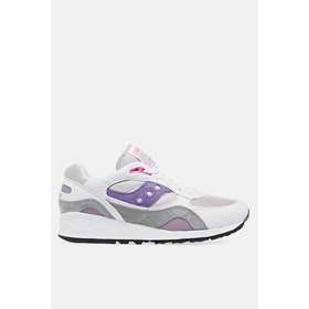 Saucony Shadow 6000 Shoes - White Grey Purple