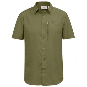 Fjallraven Abisko Hike Short Sleeve Shirt - Savanna