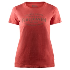 Fjallraven Est. 1960 Ladies T Shirt - Dahlia