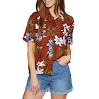 RVCA Adventure Club Ladies Short Sleeve Shirt