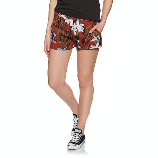 RVCA Real Ez Womens Beach Shorts