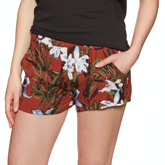 RVCA Real Ez Ladies Beach Shorts