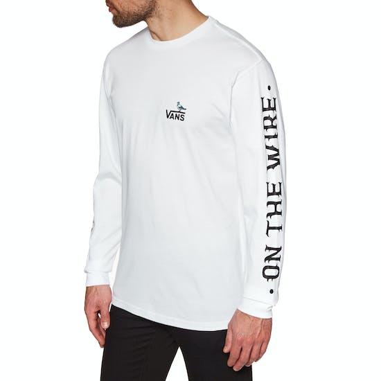 Vans X Anti Hero On The Wire Long Sleeve T-Shirt