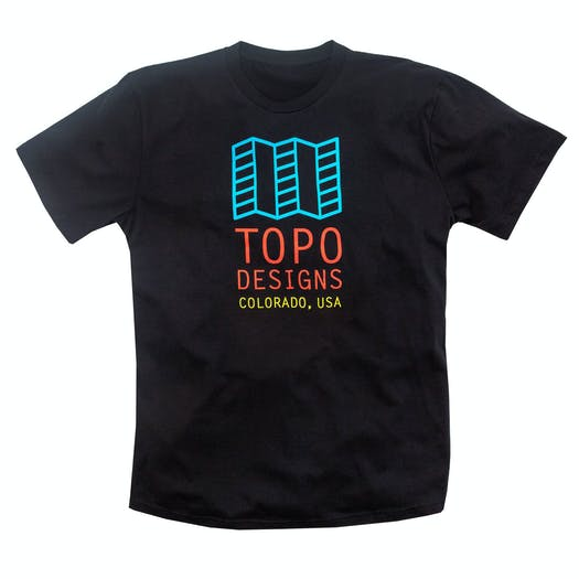 Topo Designs Original Logo T Shirt