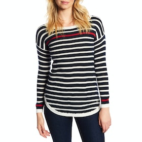 Dubarry Abbeyside Ladies Sweater - Navy Multi
