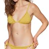 Billabong X Sincerely Jules Last Sun Slide Tri Bikini Top - Citrus