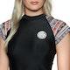 Rip Curl Cabana Capsleeve UV Womens Surf T-Shirt