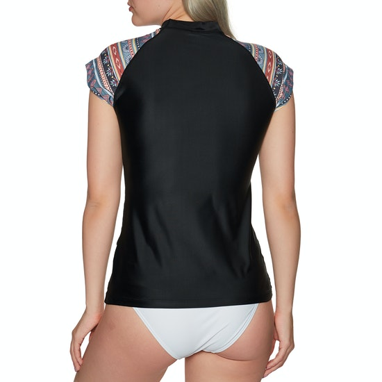 Rip Curl Cabana Capsleeve UV Ladies Surf T-Shirt