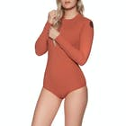 Rip Curl G Bomb Long Sleeve Back Zip UV Surf Ladies Swimsuit
